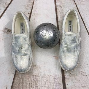 🌻Sz 6/Sneakers/ENA/WT/Embellished/Steve Madden